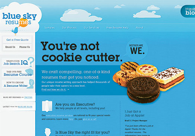 Синий цвет в дизайне сайта. Спокойствие и загадочность