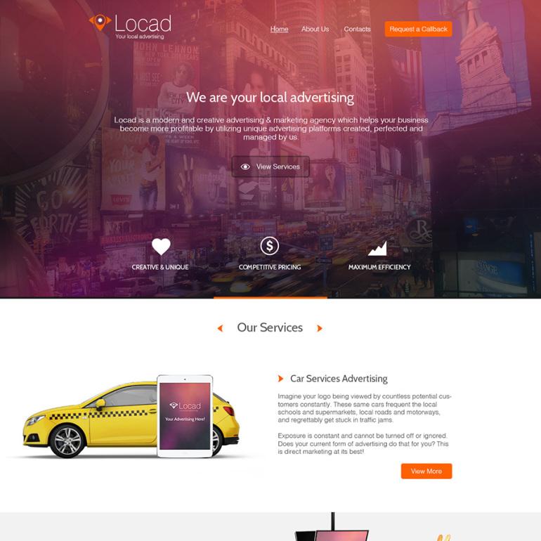 Locad — Рекламное & маркетинговое агенство